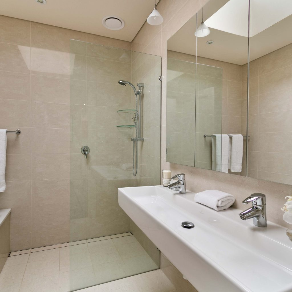 Curbless Shower Installation