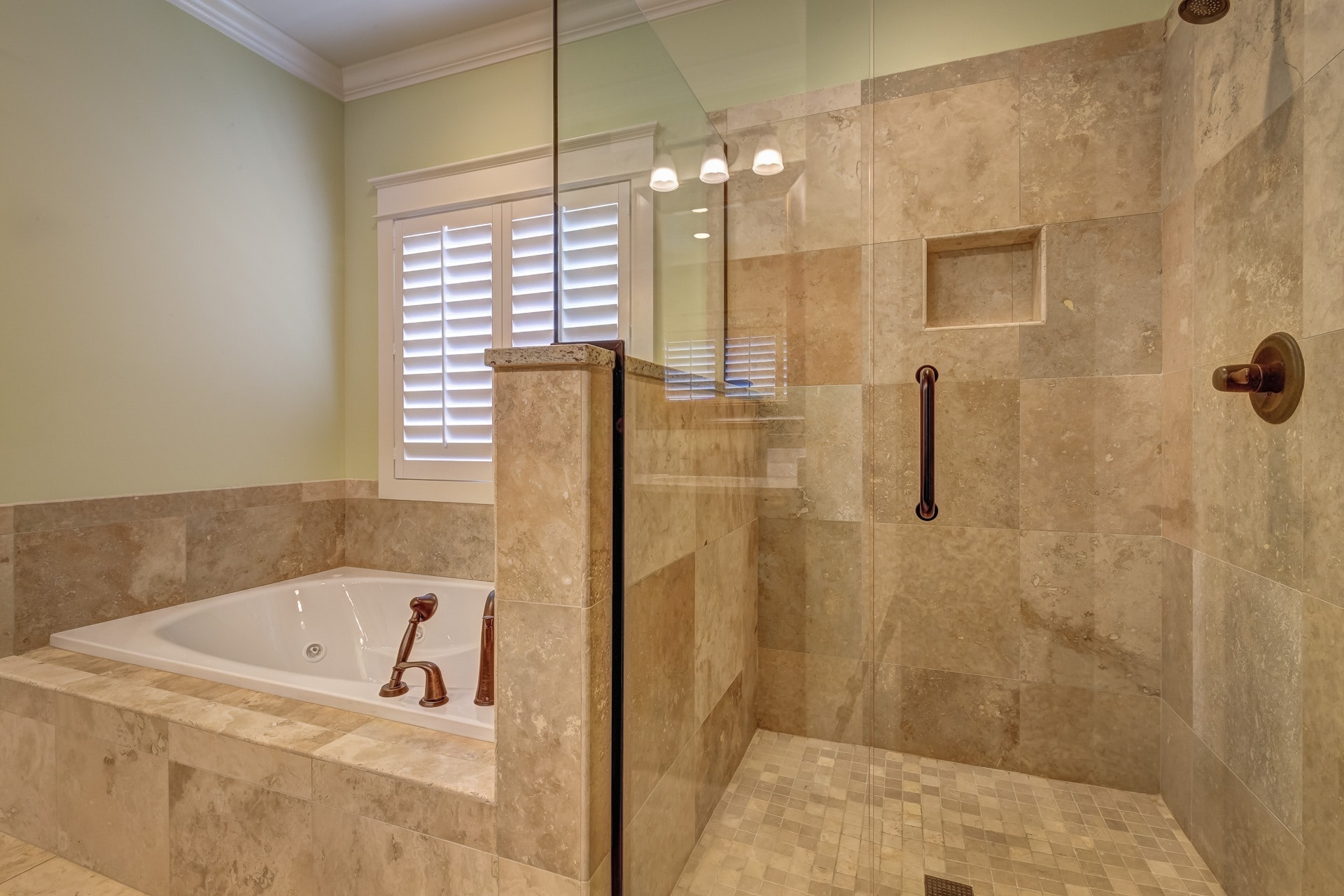 South Salem Oregon Master Bath Remodel