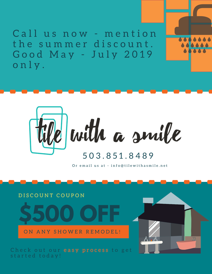 Tile With A Smile Spring Coupon