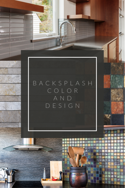 Backsplash color and design
