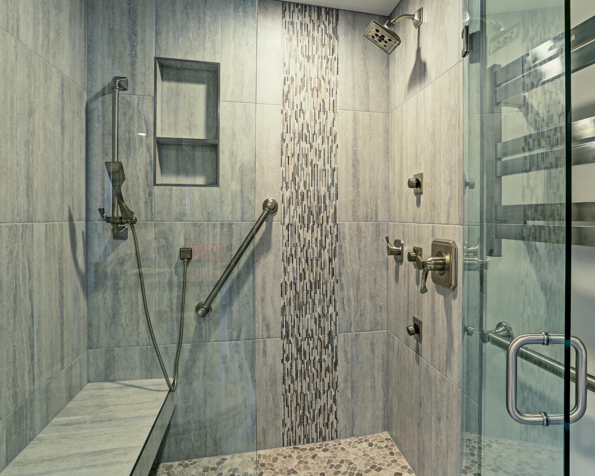 Cost breakdown to install a tile shower